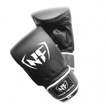 Slaghandske NF Black Leather