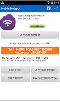 Screenshot of Portable WiFi Hotspot