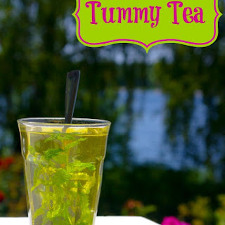 Tummy Soothing Mint Tea.