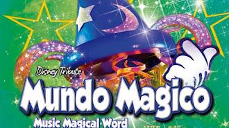 Cartel del espectáculo Mundo Mágico en la EMMA.