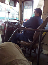 Photo: Driver, bus 49 to PC office
