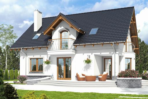 projekt Dom Dla Ciebie 7 bez garażu B