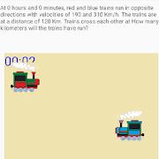 Trains: uniform movement