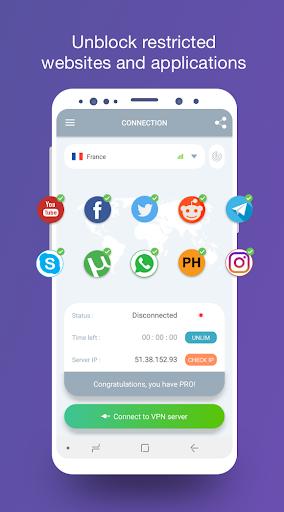 VPN Tap2free u2013 free VPN service 1.62 screenshots 2