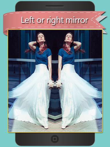 Photo Mirror Collage Editor