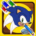 How To Draw Sonic the Hedgehog icon