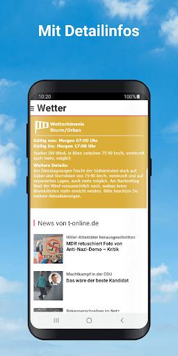 Wetter by t-online.de screenshot 3