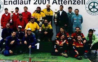 Photo: 2001: 5. Bayerischer Meister Mannschaft unverbaut