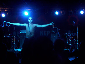 Photo: Nitzer Ebb at The Arena. Photo by Dennis Remmer.