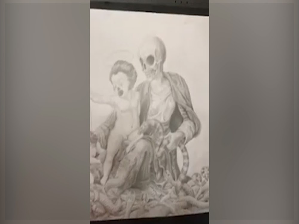My art is not satanic, it's about greed in organised religion, says matric pupil - TimesLIVE