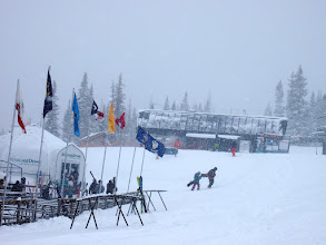 Photo: A storm dropping 28 inches of powder rolled in Sunday, November 27th!