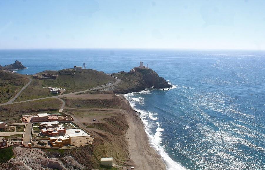 Parque Natural Cabo de Gata-Níjar, el Faro del Cabo de Gata.