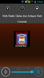 Web Rádio Clube dos Amigos Web - náhled