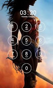 Wonder Woman Lock Screen 4K - náhled