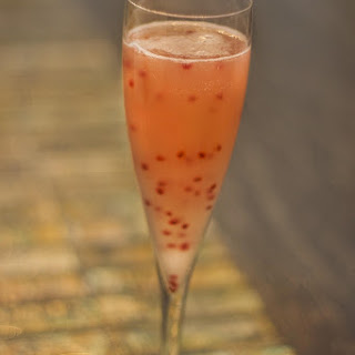 Lemon Chia Fizz Cocktail