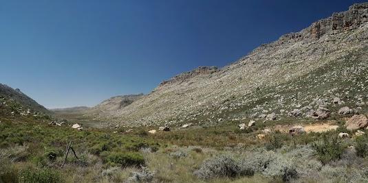 Blick vom Uitkyk Pass nach Süden
