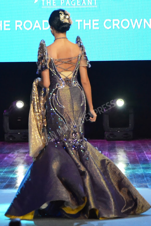 BB. PILIPINAS 2016 CANDIDATE NO. 39 SISSEL RIA RABAJANTE DRESSED BY NEL CLAVERIA FOR THE NATIONAL COSTUME COMPETITION