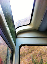 Photo: Views of Urubamba (and Sacred) Valley from train.