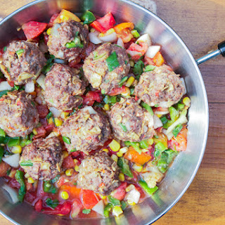 Spicy Southwest Meatballs.