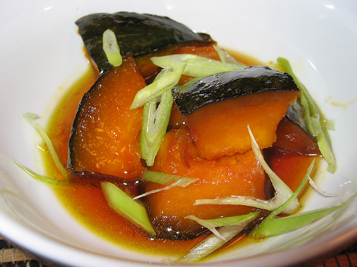 Kabocha Simmered in Caramel Sauce Recipe | Yummly