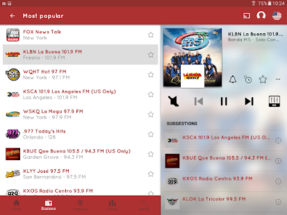 myTuner Radio App: FM Radio + Internet Radio Tuner Screenshot