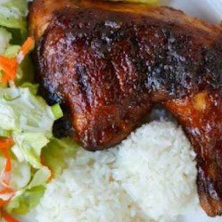 """Hawaiian Barbequed """"Huli-Huli"""" Chicken"""