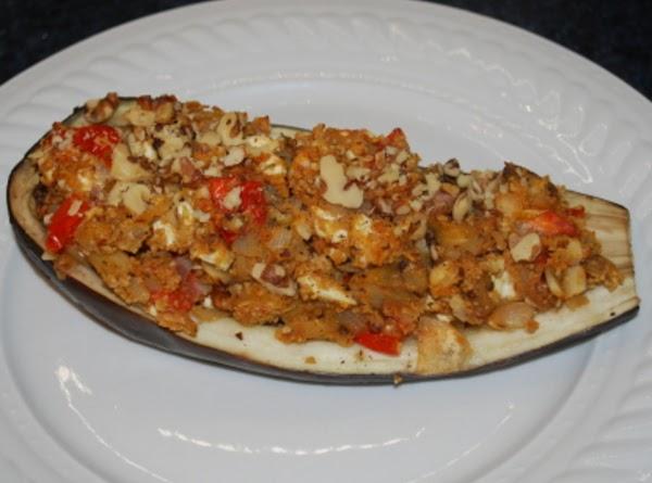 Walnut-stuffed Eggplant Recipe