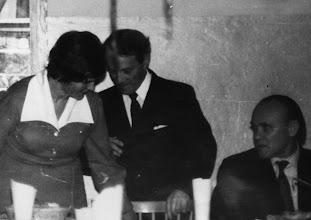 Photo: Studniówka 1974 r. Konstanty Sielepin, Teodor Pusz