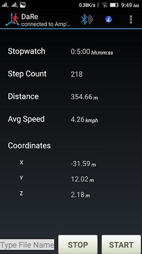 DaRe - Pedestrian Navigation