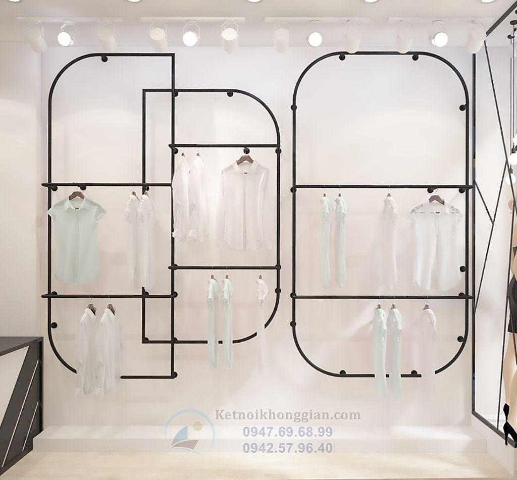 thiết kế shop thời trang công sở ấn tượng, đẹp mắt