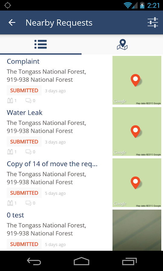 PublicStuff Mobile- screenshot
