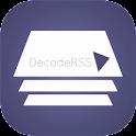 DecodeRSS (RSS Reader) icon