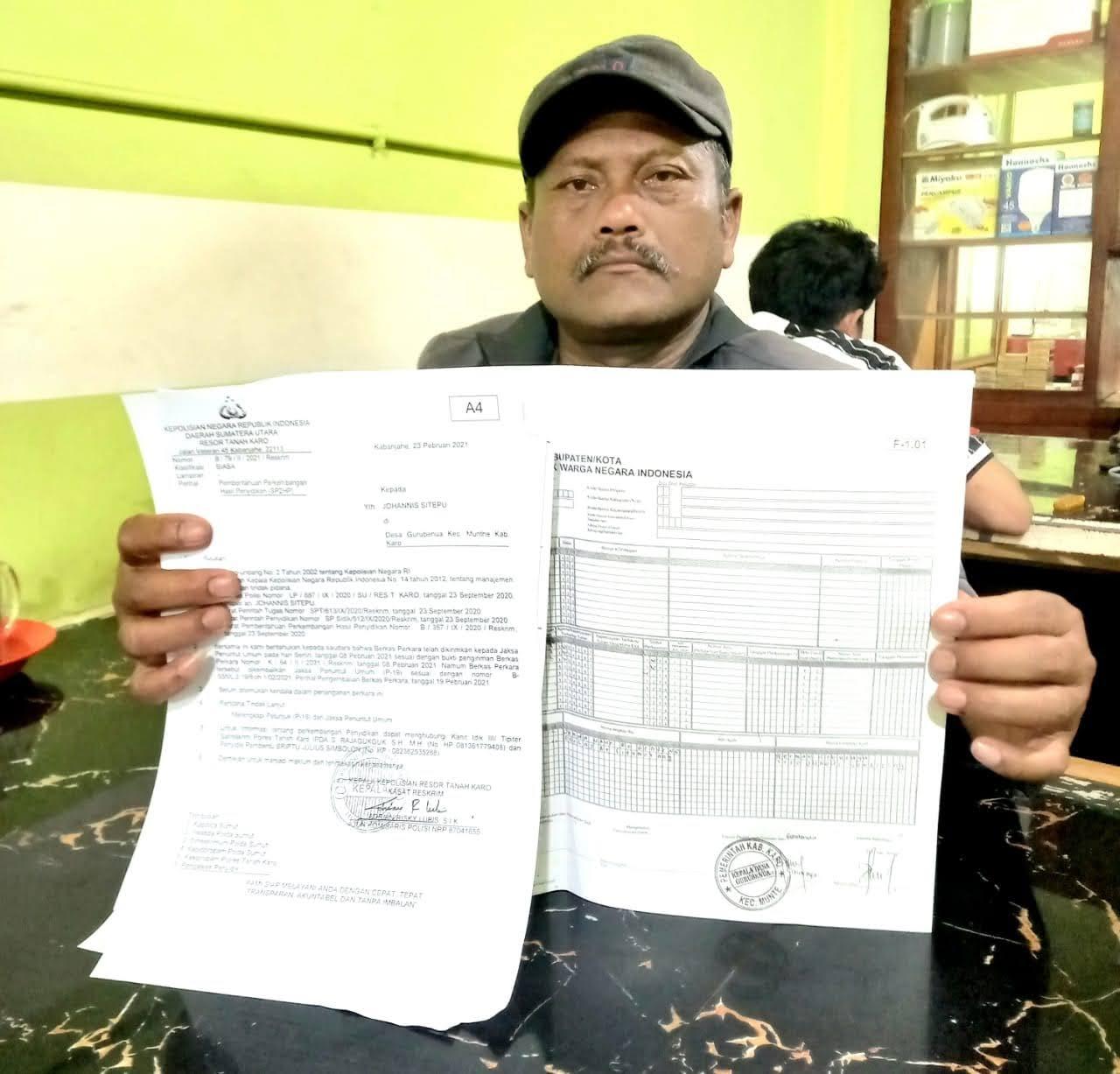"""Diduga Palsukan Dokumen Pemerintahan Desa, Seorang Oknum Ketua BPD Desa Guru Benua """"Terancam Dipenjara"""""""