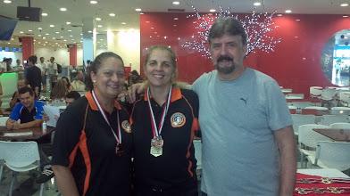 Photo: Marina Suartz & Roseli Santos (BRONZE nas duplas femininas 1.ª divisão)
