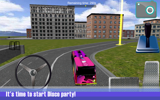 Party Disco Bus Sim 3D
