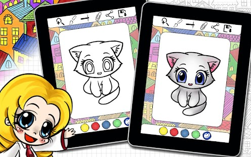 Download Coloring Book Famous Kitty Cats For PC Windows And Mac Apk Screenshot 12