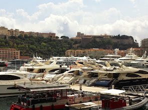 Photo: Azurové pobřeží v jižní Francii - návštěva monackého knížectví (sobota 28. červen 2014).