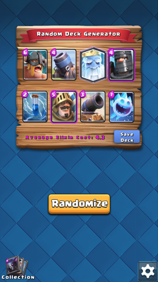 Random Deck for Clash Royale- screenshot