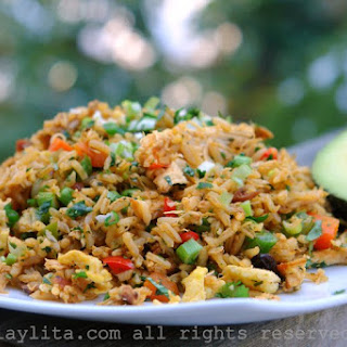 Ecuadorian Chicken Fried Rice