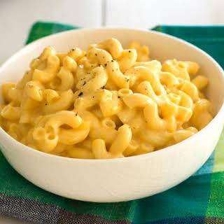 Creamy Crockpot Macaroni and Cheese.