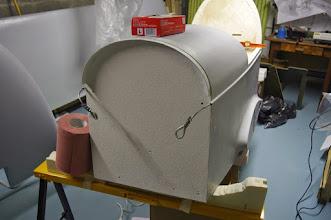 Photo: Cloison pare-feu avec une peinture ignifugée