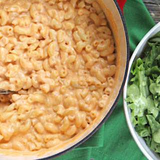 Three Cheese Stovetop Macaroni and Cheese