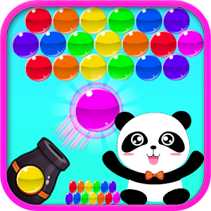 Panda Disparador de Burbujas Gratis