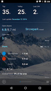 Snow Report Ski App- screenshot thumbnail