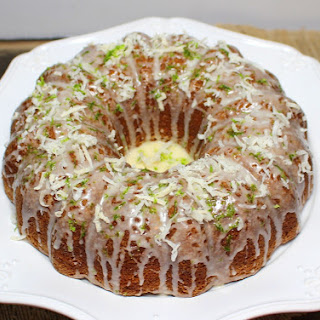 Lime Coconut Bundt Cake