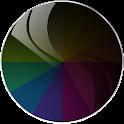 Black I Glass NOVA/APEX/ADW HD icon