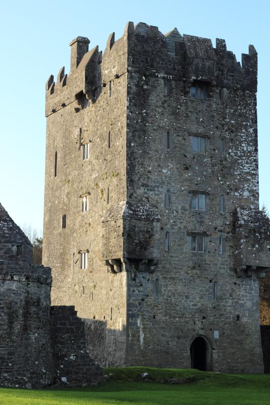 Ирландия. Отели в замке