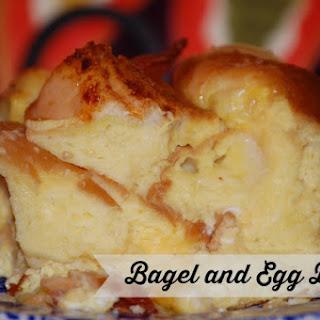 Bagel Egg Bake