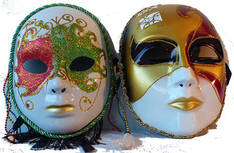 BB venetiansk mask