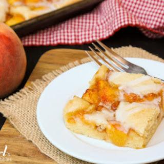Almond Peach Squares.